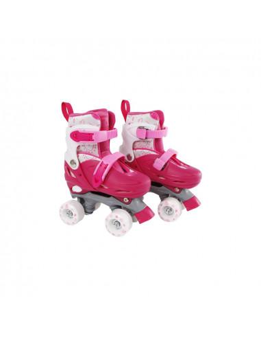 Street Rider Rolschaatsen Roze Verstelbaar Maat 27-30BT