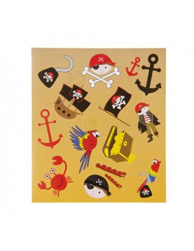 Stickervel Piraat