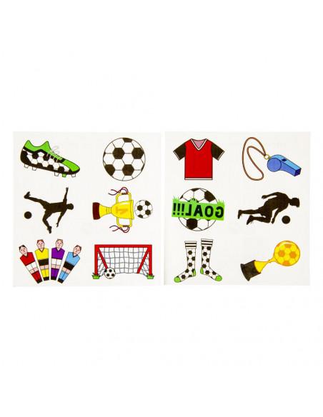 Tattoo Vel Voetbal