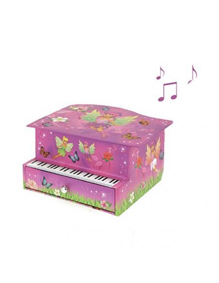 Muziekdoosje Elfje Piano Met Lade
