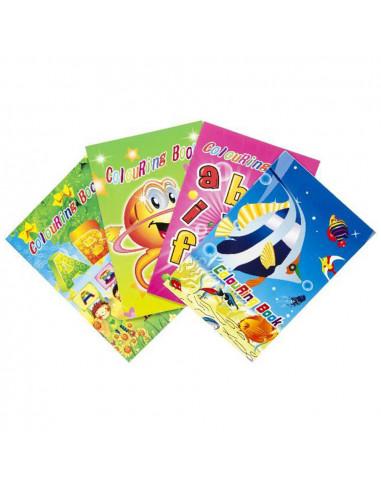 Kleurboek Met Stickers Groot